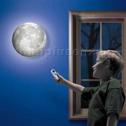 """Lampada da muro LUNA """"Moon in my Room"""" a fasi lunari con telecomando"""