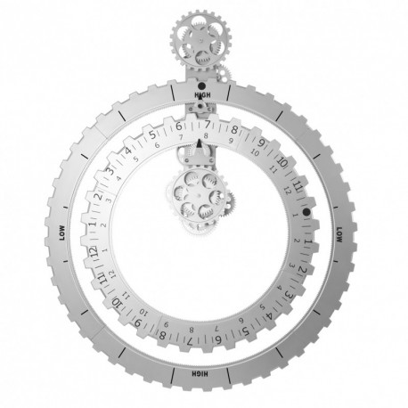 Orologio maxi ingranaggi Truth Time Piece con fasi lunari