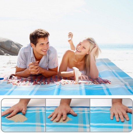 Nuovo! Telo Mare ANTISABBIA - Originale CGear Sand-Free RUG - Elimina la sabbia