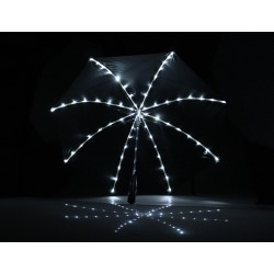 Ombrello con 64 luci LED