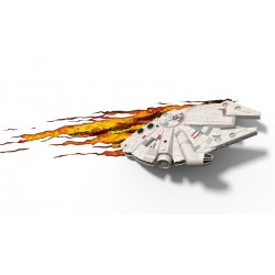 3D Star Wars Millennium Falcon Light  led - 3DLightFX