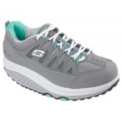 Scarpe Fitness Sechers Shape ups 2.0 Comfort Stride 57003 GYMT Gray Mint Grigio-menta