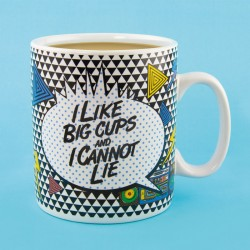 I like Big Cups... Mug - Tazza gigante 900ml