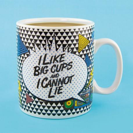 I like Big Cups... Mug - Tazza gigante 900ml
