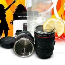 "Photo Shot - bicchierino ""Focus"" thermos Obiettivo"