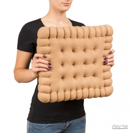 "Cuscino biscotto ""galletta"" - Giant Biscuit Pillow"