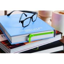 "Segnalibro ""ZIP"" Verde - Zipper book mark - green"