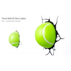 Palline da Tennis 3D (2pz) - Lampada da muro 3DlightFX