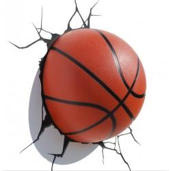 Pallone Basket 3D - Lampada da muro 3DlightFX