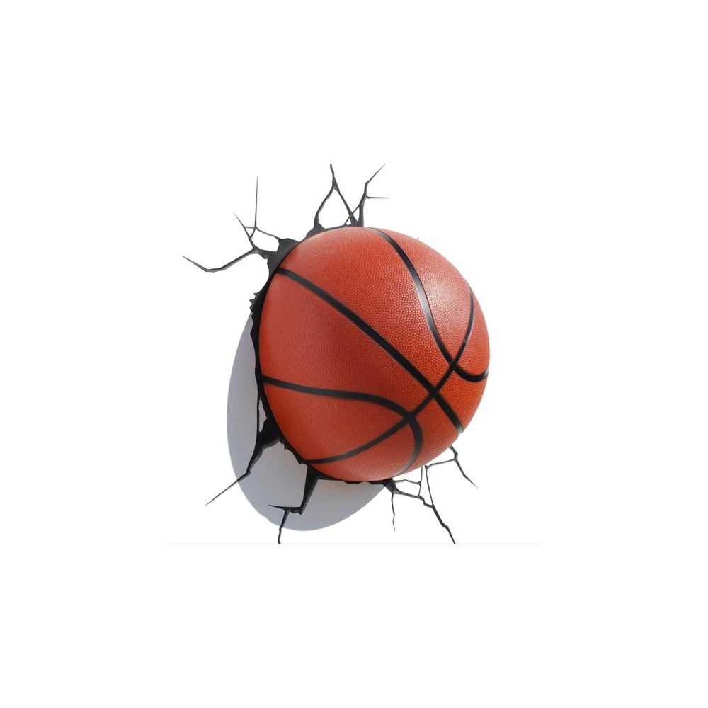Lampada Pallone Basket 3D 3DlightFX - Idee Regalo Maipiusenza