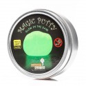 Plastilina non newtoniana fosforescente con luce UV - Magic putty - glow in the dark with UV light