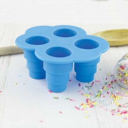 Stampo per 4 mini torte - Tiny Tiered Cake Mould