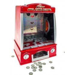Gioco Coin Pusher - Arcade riproduzione da bar - spingi monetine