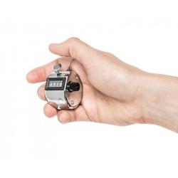 Contatore manuale contapersone - da 1 a 999 scatti - contacolpi analogico