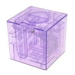 Salvadanaio Maxi Labirinto - Money maze - LILLA
