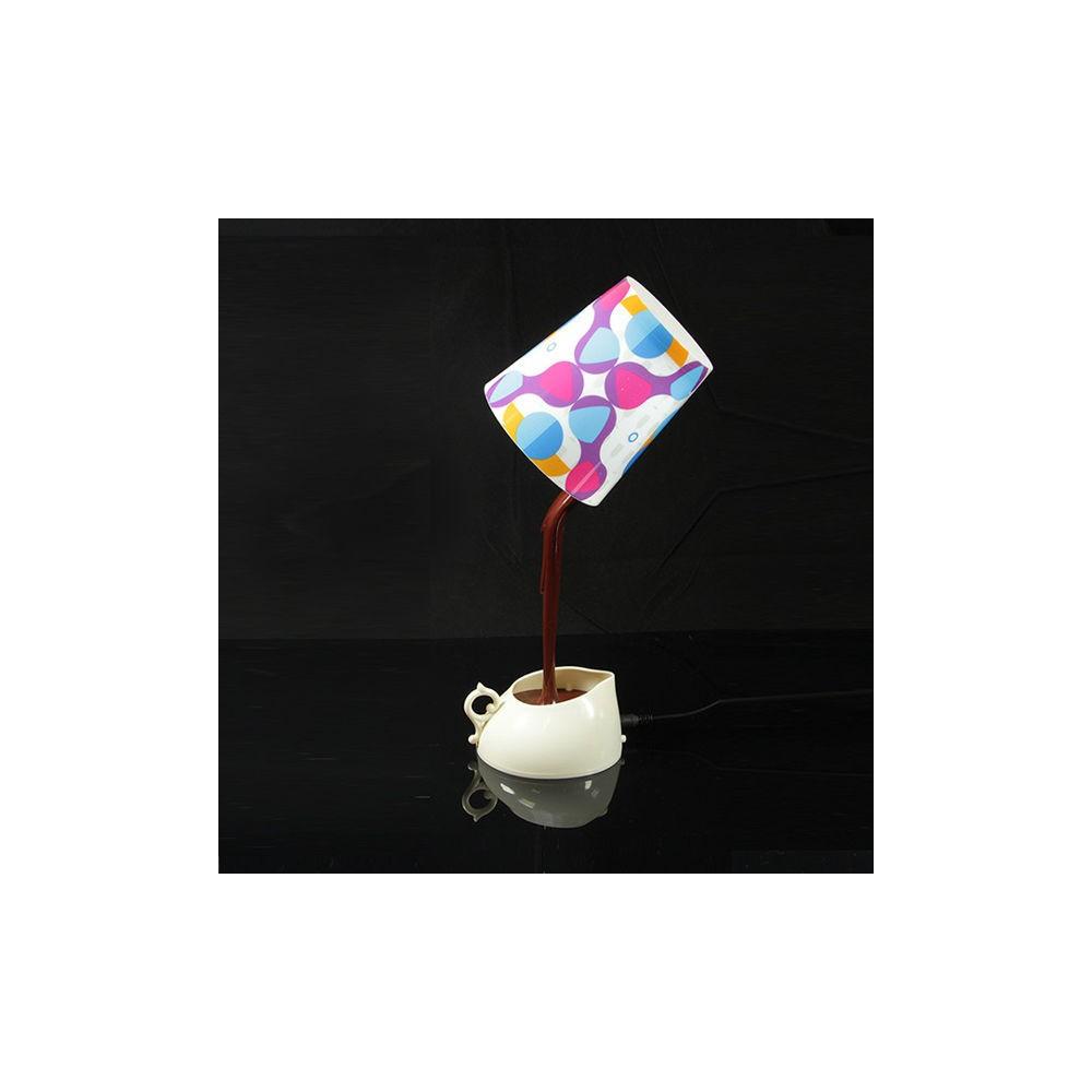 Lampada led da tavolo cioccolata calda o caff idee regalo maipiusenza - Lampada a led da tavolo ...