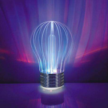 Lampada Policromatica multicolore a forma di lampadina - Polychrome Light USB