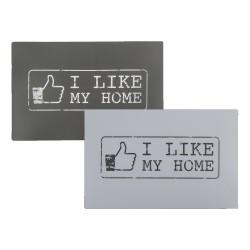 "Tovaglietta da tavola in polipropilene, I Like My Home"" FB ca. 44 x 30 cm 2 colori assortiti"