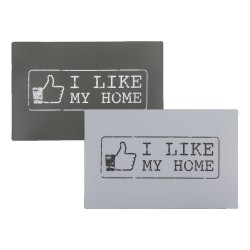"Set 4 Tovaglietta ""I Like My Home"""
