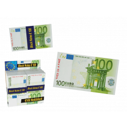 Block Notes, Banconote 100 € Euro