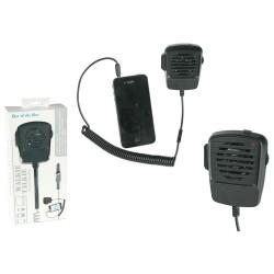 Cornetta del telefono in plastica, microfono radioamatore - Radiotrasmittente, ca. 9 cm