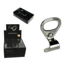 Apribottiglie magnetico in metallo, Linguetta di lattina, ca. 7 cm