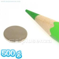 Disco 10x1 mm - 500 pezzi - Magneti al neodimio - calamite