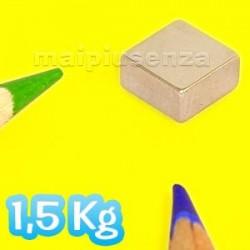 Blocchi 8x8x4 mm - 25 pezzi - Magneti al neodimio - calamite