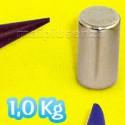 Cilindri 9x5 mm - 25 pezzi - Magnete al neodimio - calamita