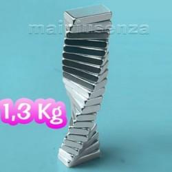 Blocchi 10x5x2 mm - 100 pezzi