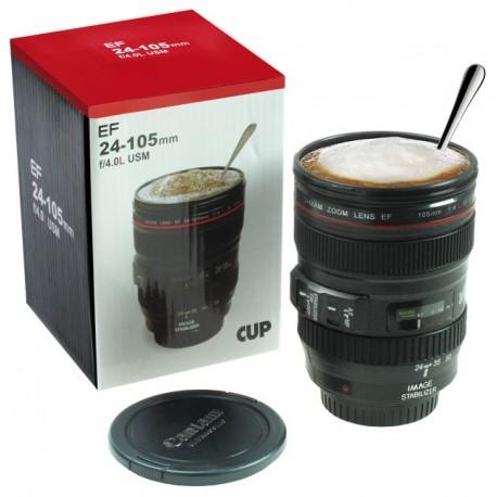 """Tazza obiettivo 24-105 """"simil"""" Canon scala 1:1 - Camera Cup"""