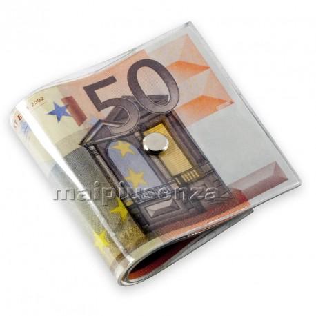 Fermaporta a mazzetta di BANCONOTE da 50 Euro - ferma porta banconota INVOTIS