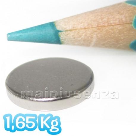 Disco 12x2 mm - 7 pezzi - Magneti al neodimio - calamite