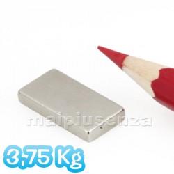 Blocchi 20x10x3 mm - 10 pezzi - Magneti al neodimio - calamite