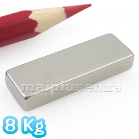 Blocchi 30x10x5 mm - 2 pezzi - Magneti al neodimio - calamite