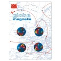 Set 4 Magneti Globo INVOTIS