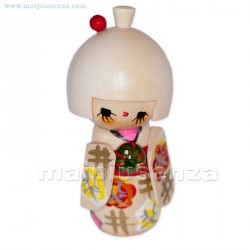 Temari - Bambola Kokeshi