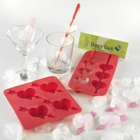 Stampo ghiaccio a forma di cuore