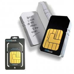 Blocco note SIM CARD